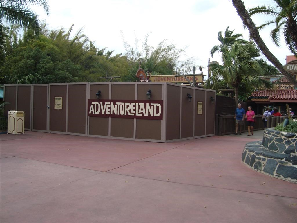 Adventureland bridge refurbishment