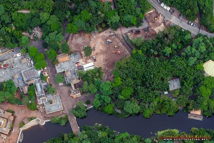 Construction behind Harambe