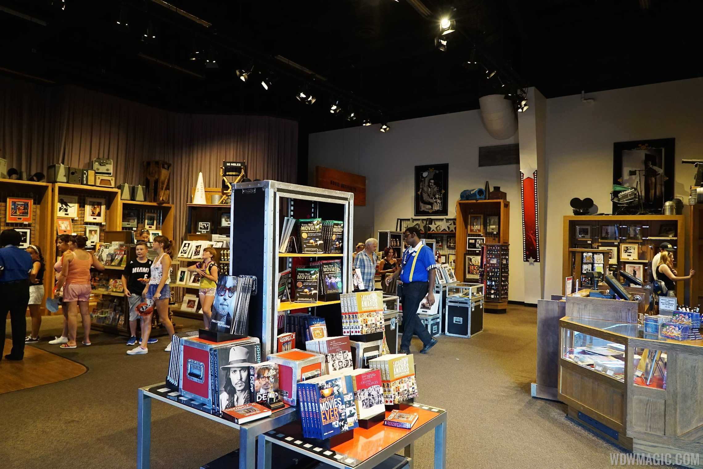 American Film Institute exhibit - Inside the Showcase Shop