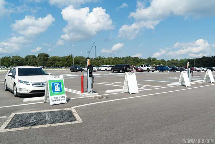 Disney's Animal Kingdom Electric Vehicle Chargers
