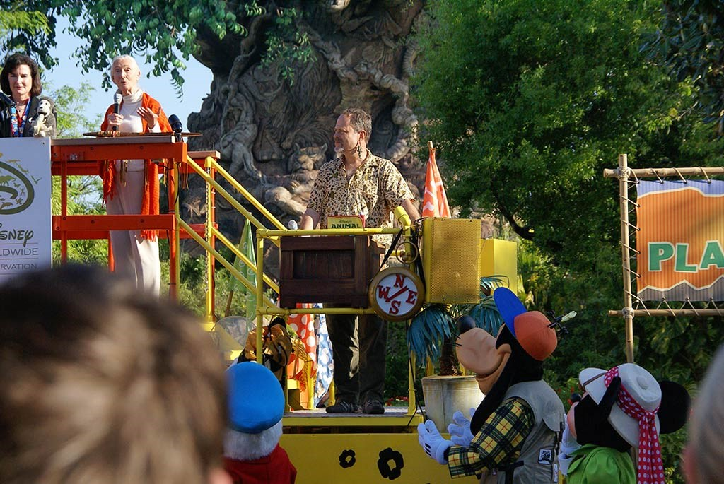 Animal Kingdom 10th Anniversary ceremony