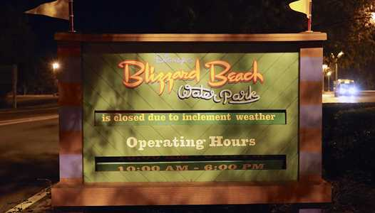 Blizzard Beach annual refurbishment to begin in October