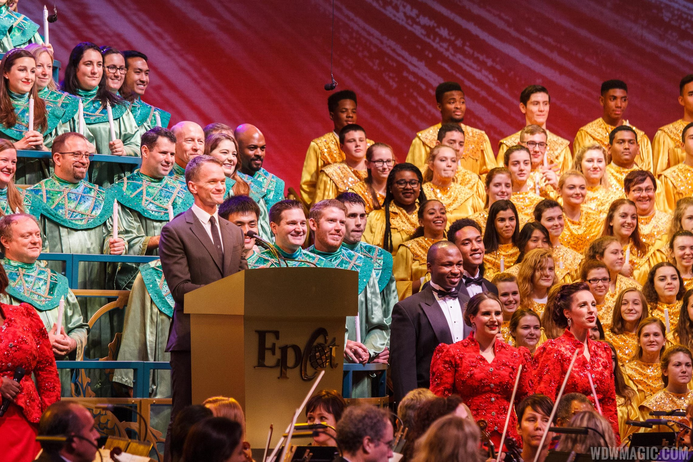 Neil Patrick Harris Candlelight Processional 2015