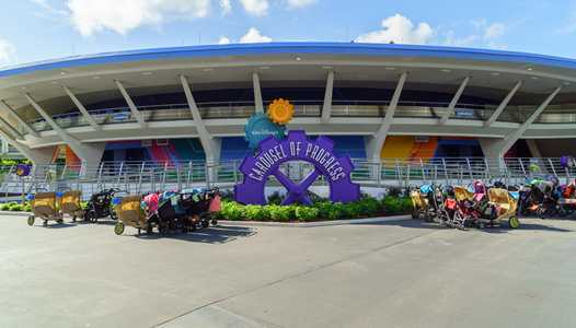 PHOTOS - A look at the new paint scheme at Carousel of Progress