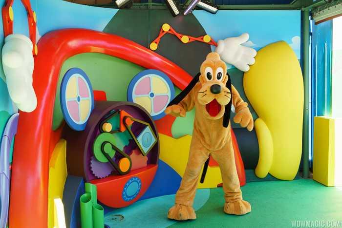 Disney Junior Pluto meet and greet