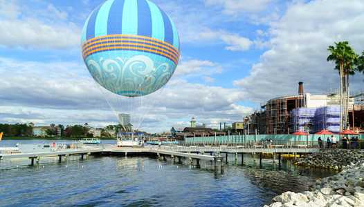 PHOTOS - New look Characters in Flight balloon takes to the skies above Disney Springs