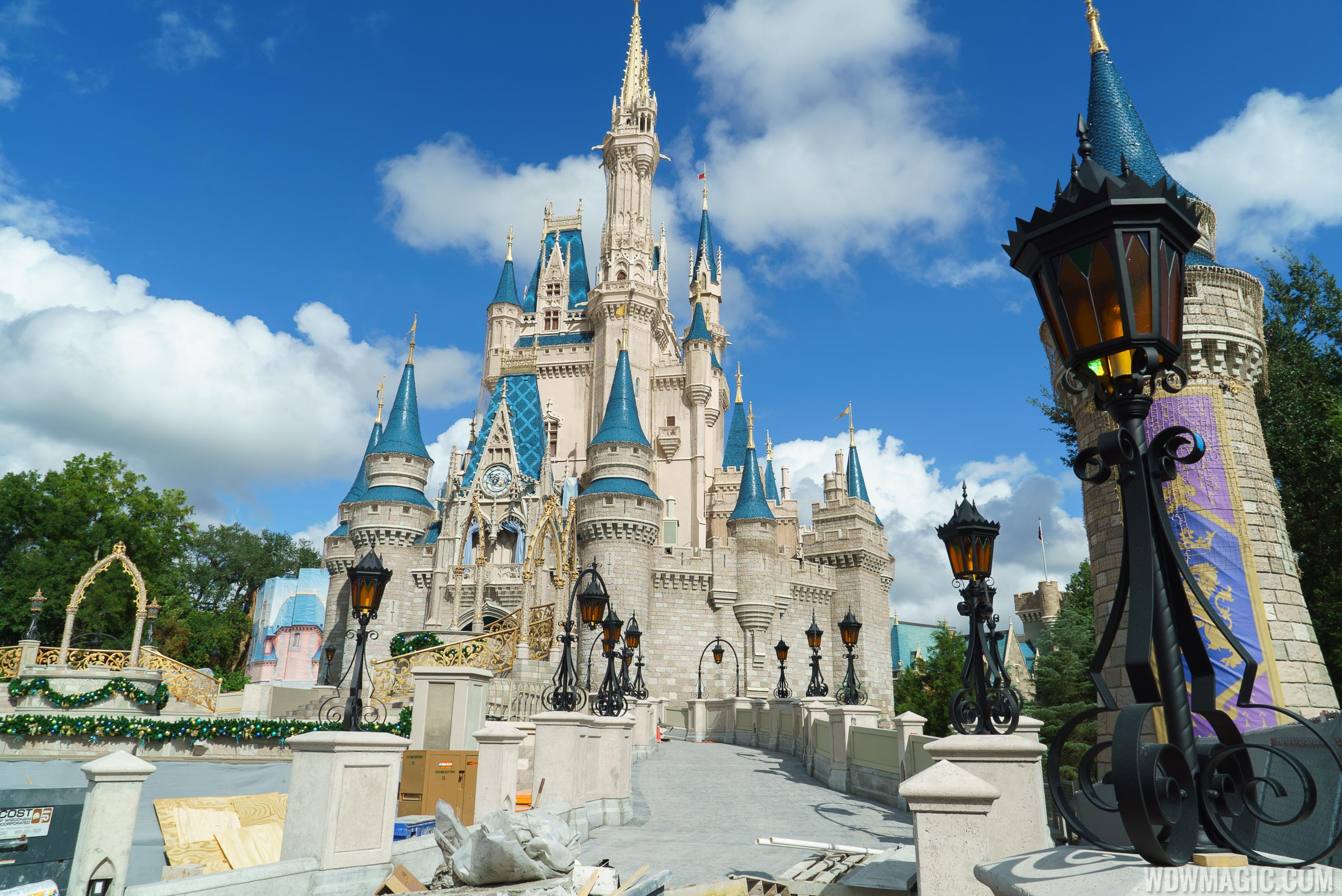 Photos New Ramps Around Cinderella Castle Nears Completion