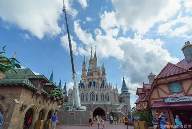 Cinderella Castle refurbishment