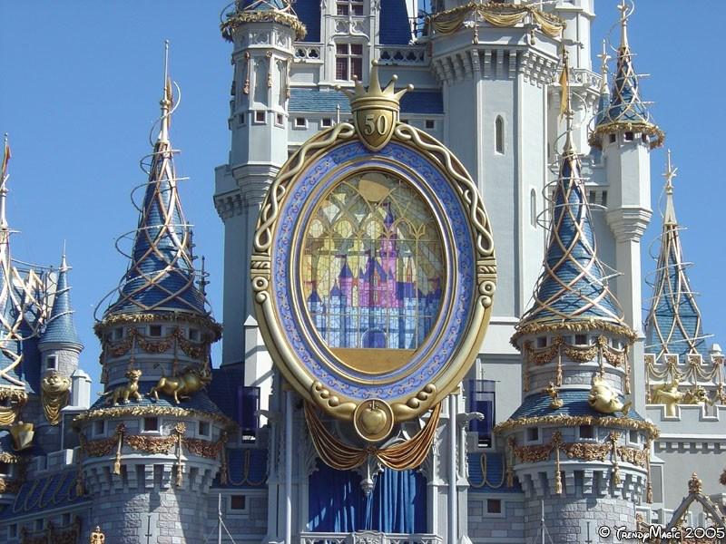 Cinderella Castle overlay now complete