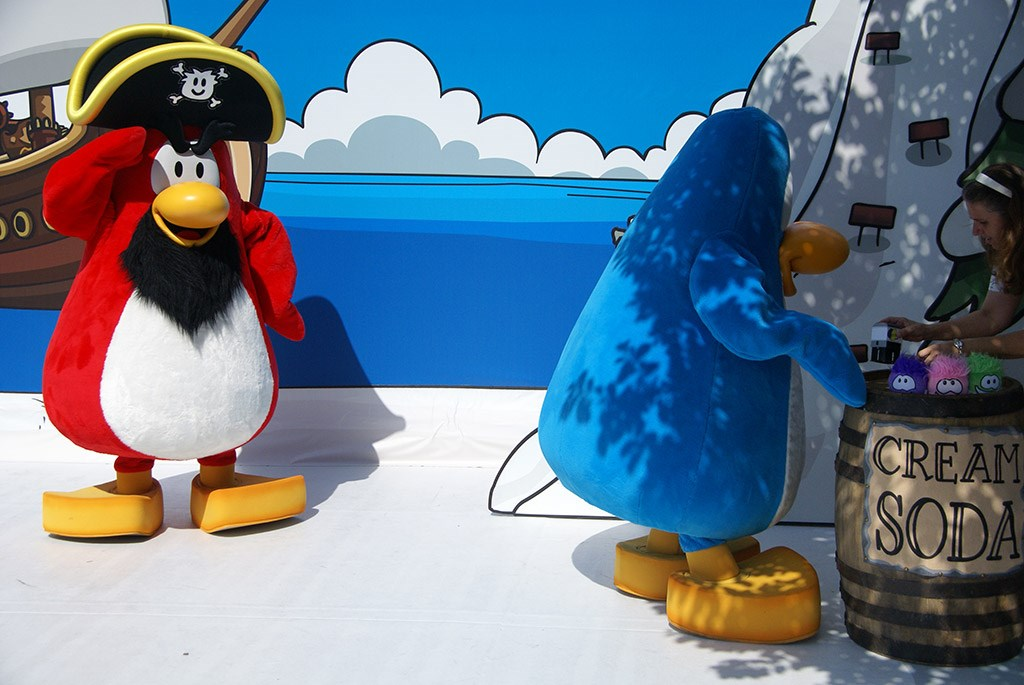 Club Penguin meet and greet
