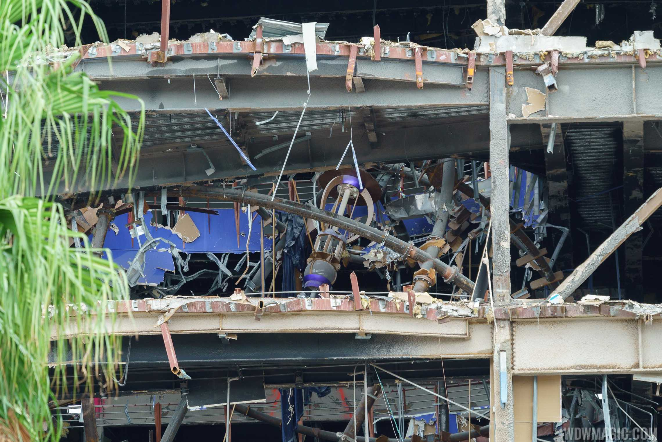 Disney Quest main building demolition
