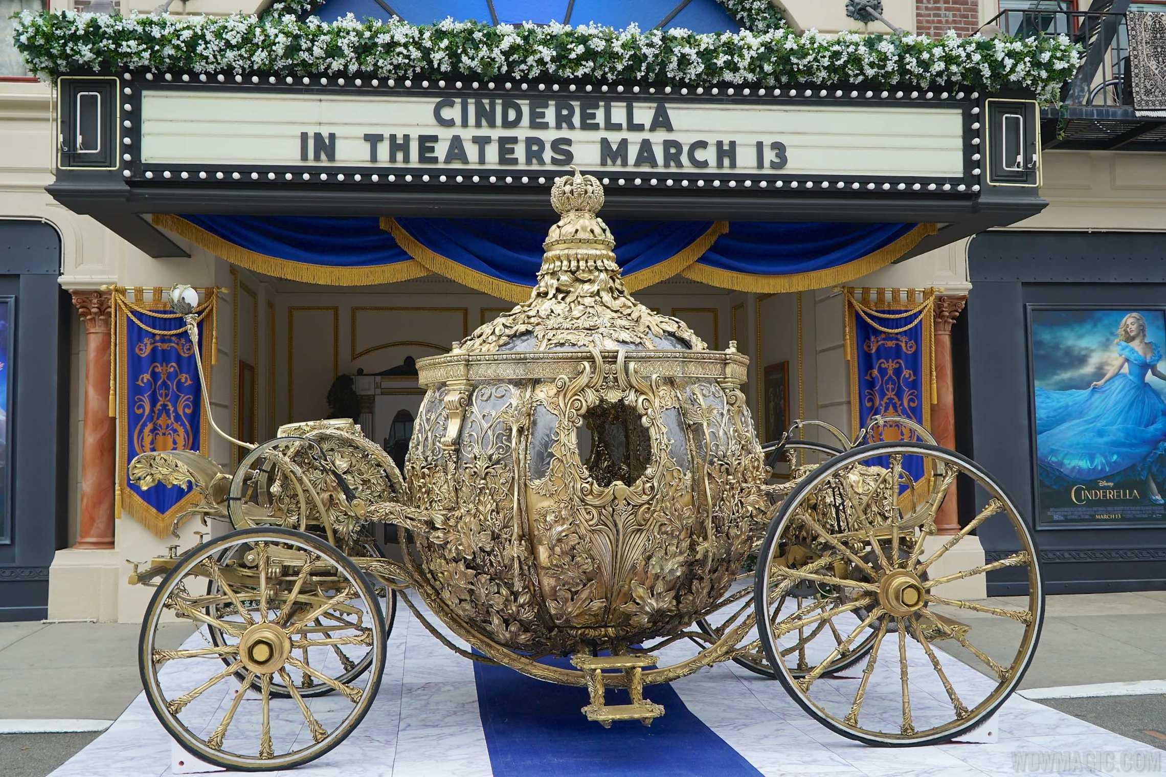 Cinderella Golden Coach movie prop