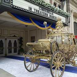 Golden Carriage prop from Cinderella