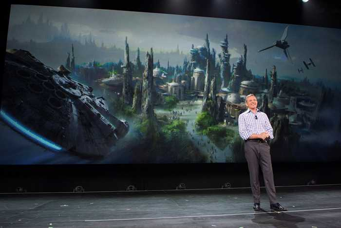 Star Wars Land announcement