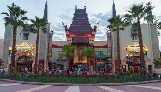 Secondary sidewalk entrance to Disney's Hollywood Studios now closed for park entry