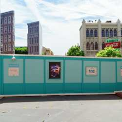 Backlot construction walls
