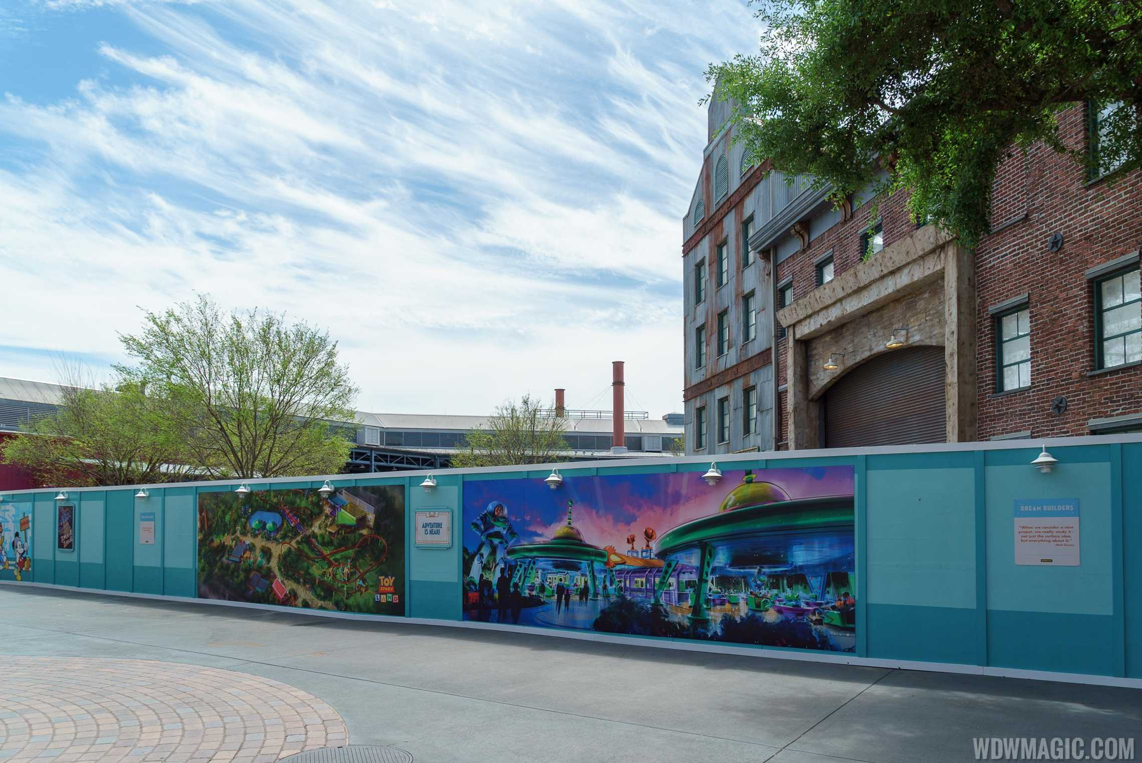 Walls near Pixar Place