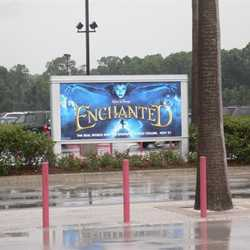 New Movie and TV billboards in the Studios parking lot