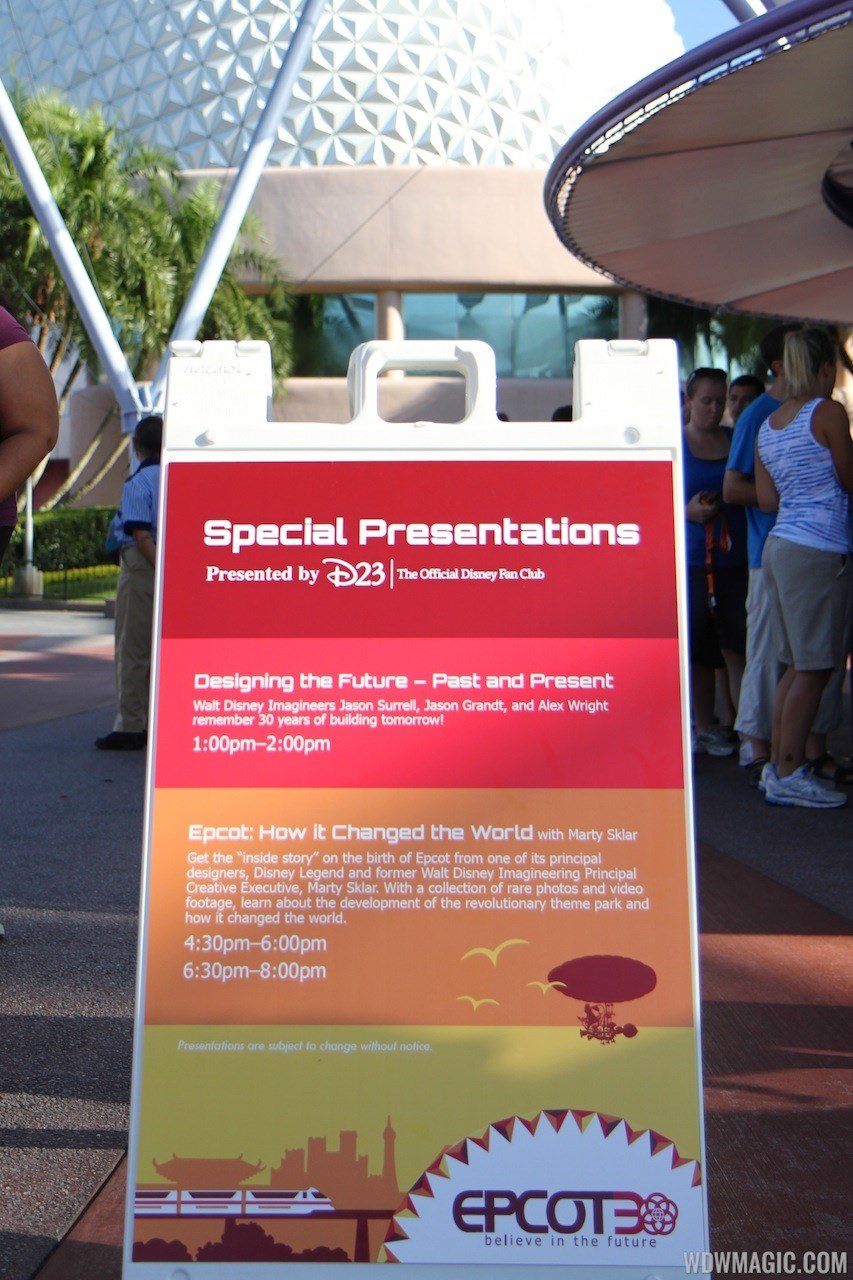 Epcot 30th October 1 2012