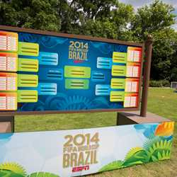 2014 Brazil FIFA World Cup at Epcot
