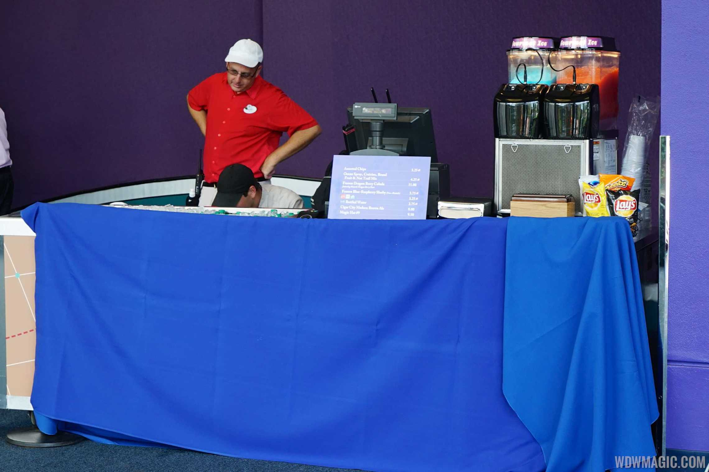 Innoventions D-Zone food and drink kiosk