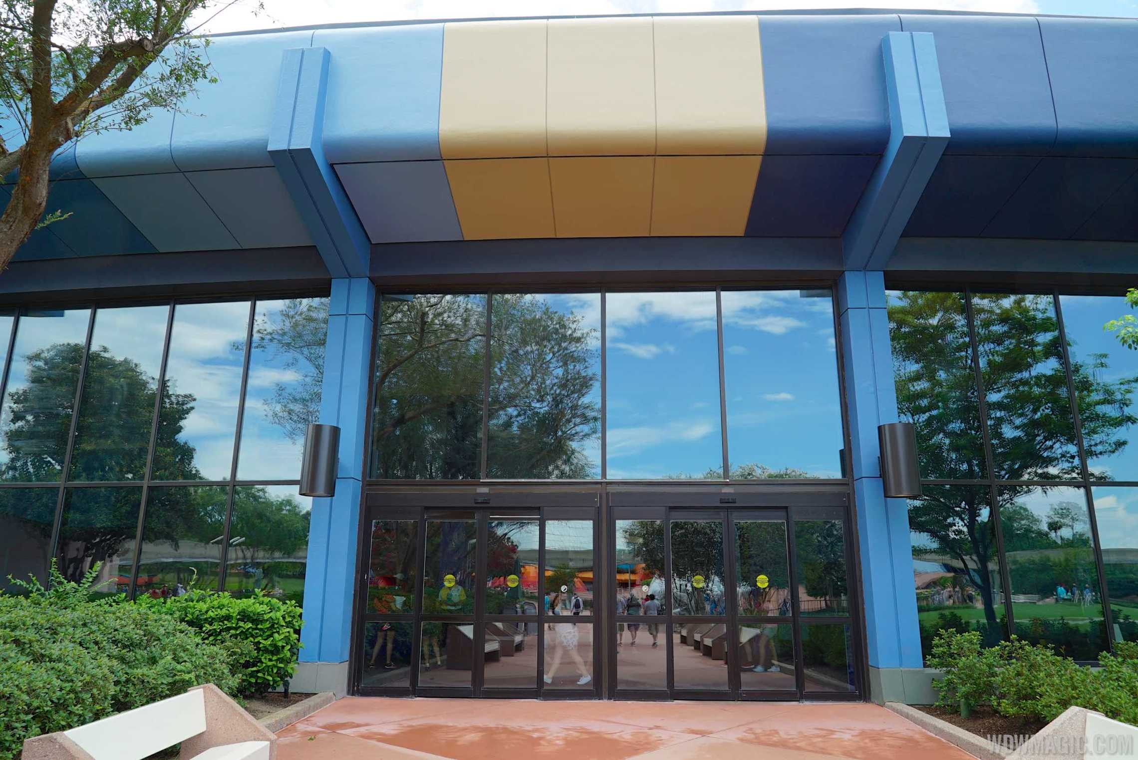 Entrance to the Innoventions D-Zone
