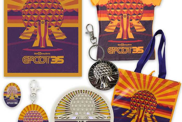 Epcot 35th Merchandise