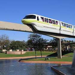 Monorail beam refurbishment Future World West