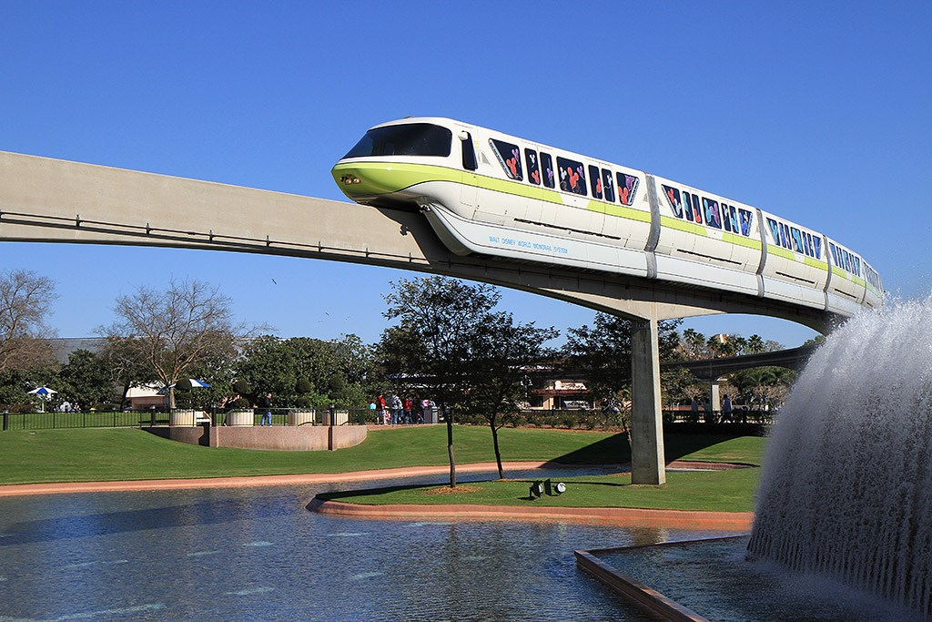 Monorail beam refurbishment Future World West