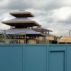 Expedition Everest construction