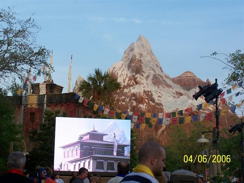 More from the Expedition Everest grand opening event