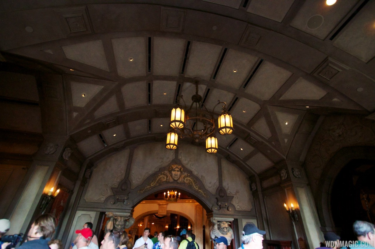 Inside Be Our Guest Restaurant
