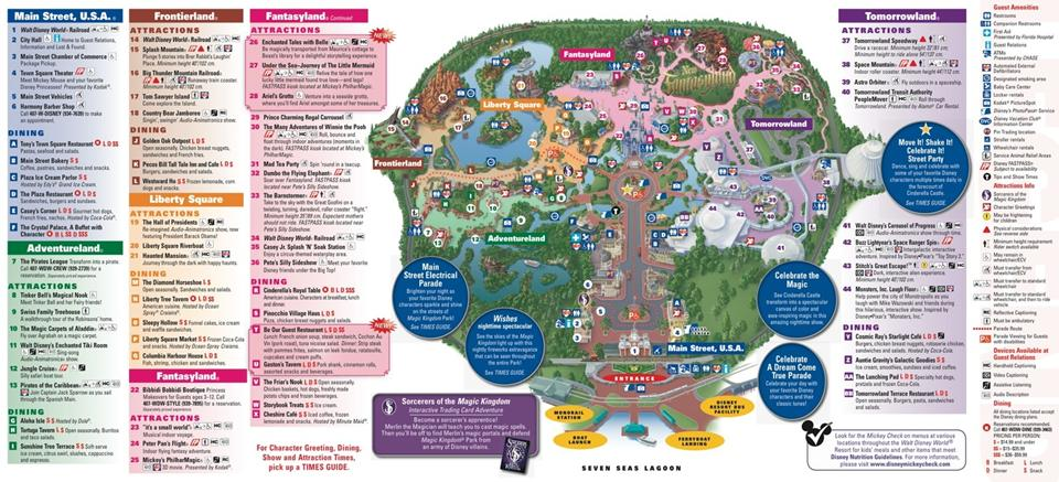 New Fantasyland on the Magic Kingdom guide map  Photo 1 of 2