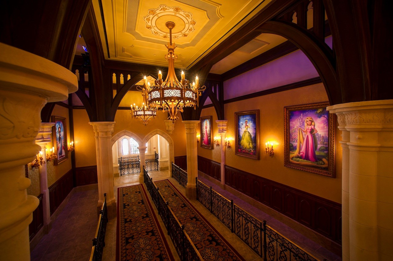 Inside Princess Fairytale Hall