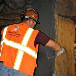 Seven Dwarfs Mine Train theming sneak peek