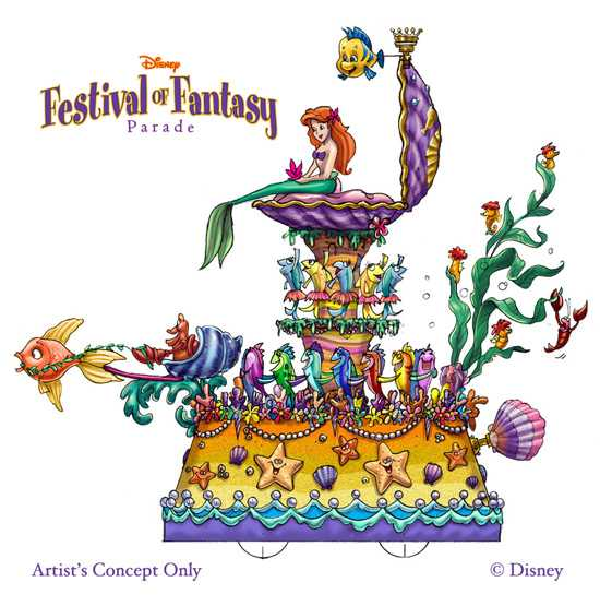 Disney Festival of Fantasy - The Little Mermaid