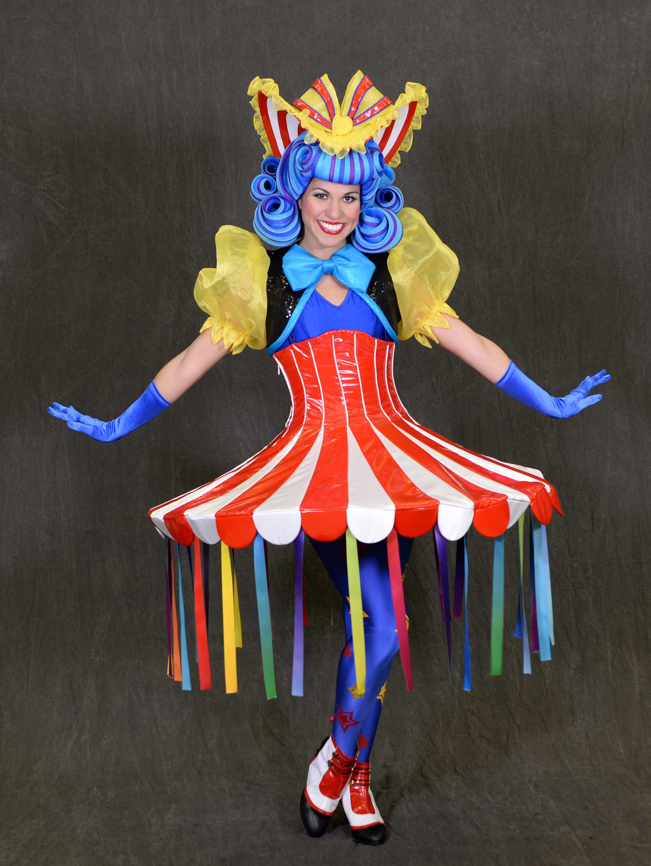 Disney Festival of Fantasy Parade Costumes - Cha Cha Girl