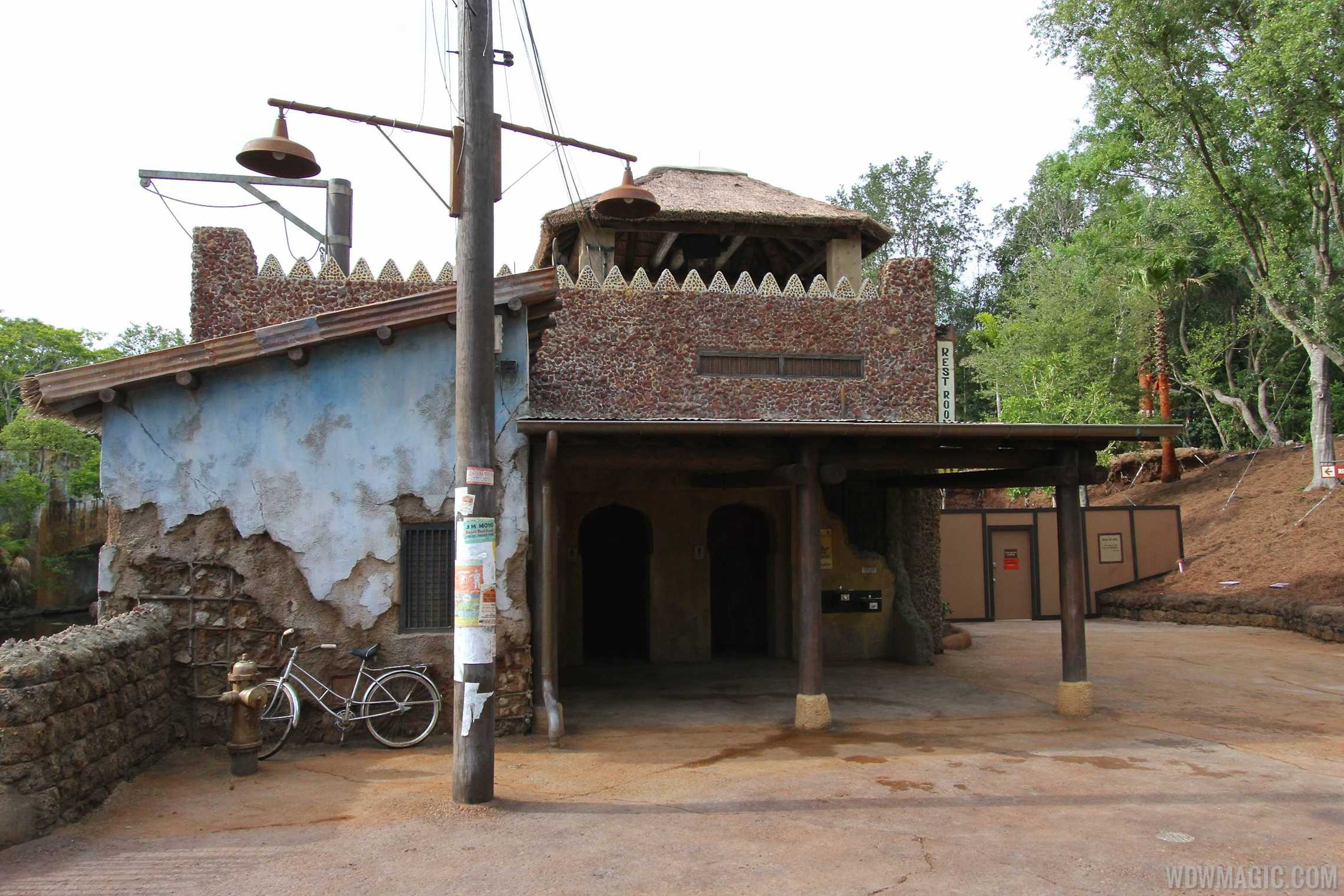 New Harambe Theatre area in Africa - The restrooms