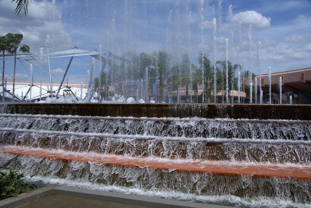 Fountain of Nations post refurbishment