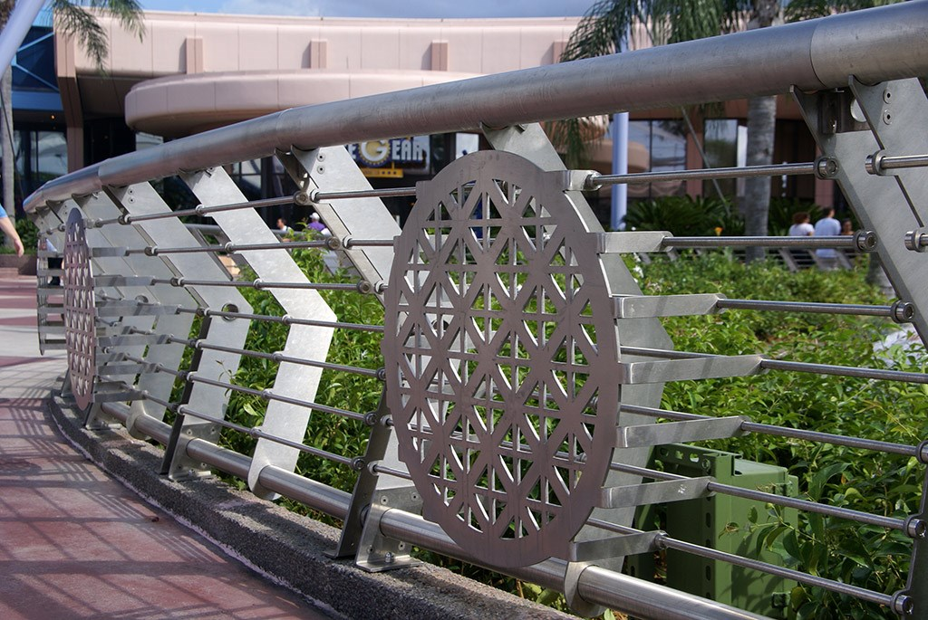 Fountain of Nations new railing details