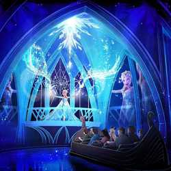 Frozen Ever After concept art