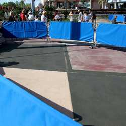 Innoventions Plaza concrete walkway refurbishment