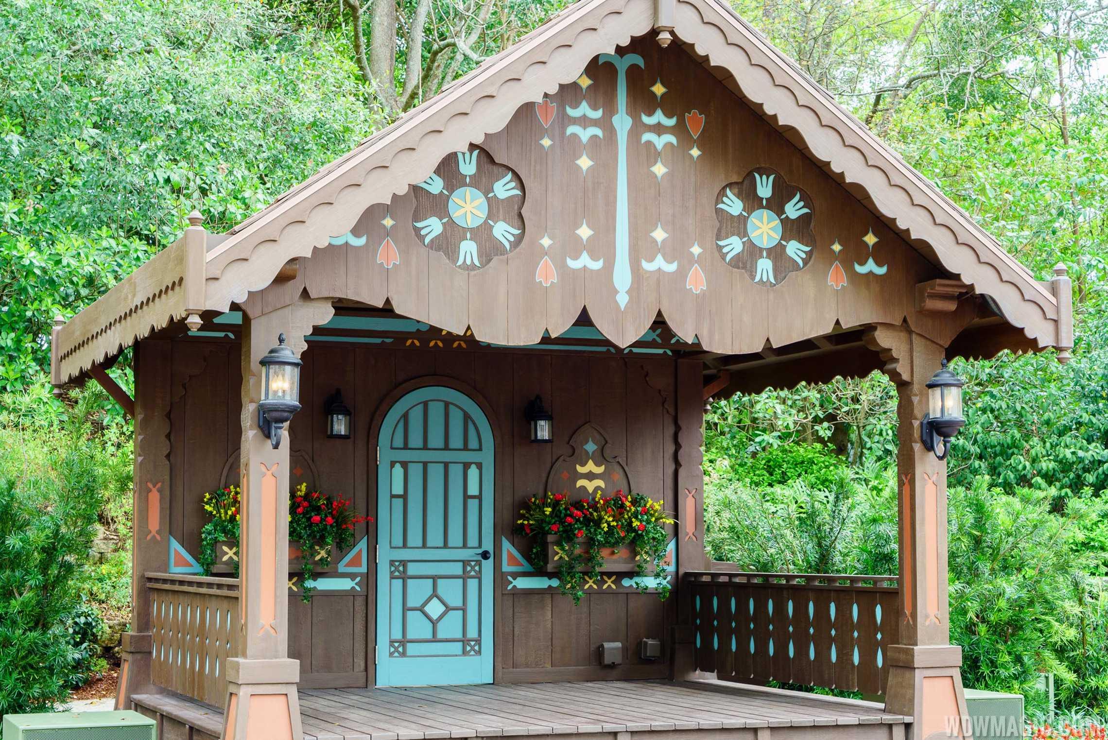 Germany Pavilion stage
