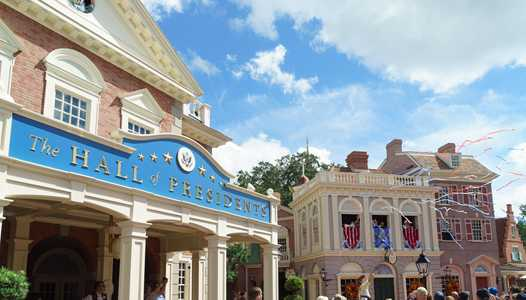 Disney statement on the Hall of Presidents and the inclusion of a speaking role for Trump