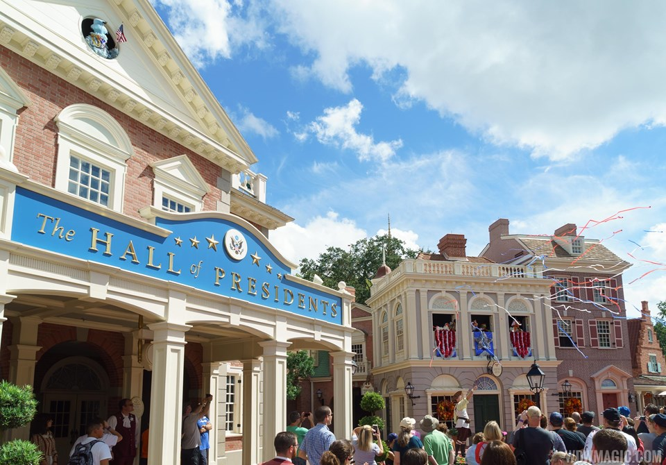 The updated Hall of Presidents will reopen late 2017