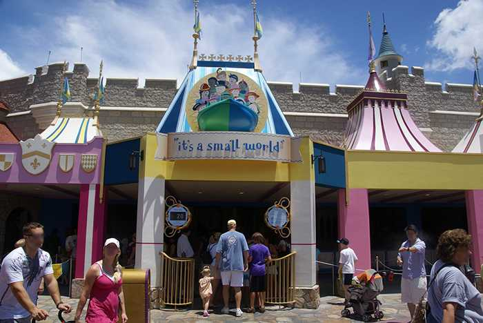 It's A Small World exterior refurbishment