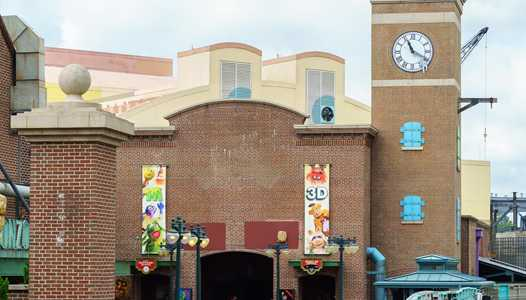 PHOTOS - New entry marquee sign coming to MuppetVision 3D