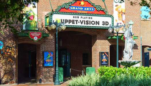 PHOTOS - MuppetVision theatre gets a new name and entry marquee