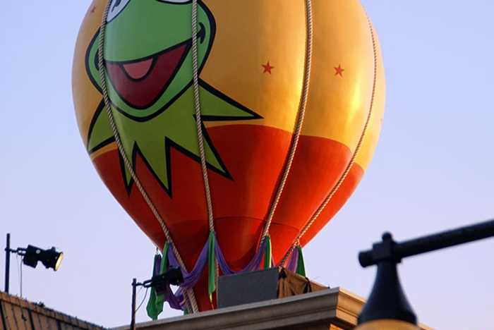 Muppets Balloon refurbishment complete