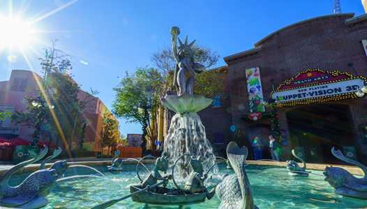 PHOTOS - Muppets Fountain returns to Grand Avenue at Disney's Hollywood Studios